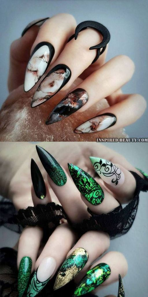Halloween Nail Ideas to Try 2019 | Halloween nails, Super ...
