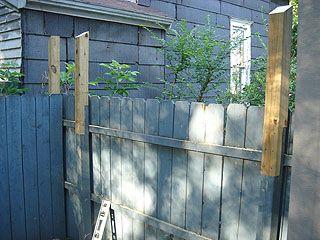 Lattice Privacy Screen For Deck Trellis Fence