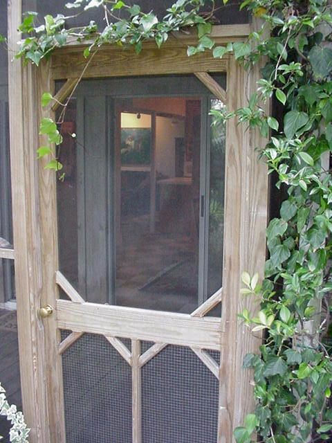 I Love The Old Screen Doors The Sound They Make Vickie S Place