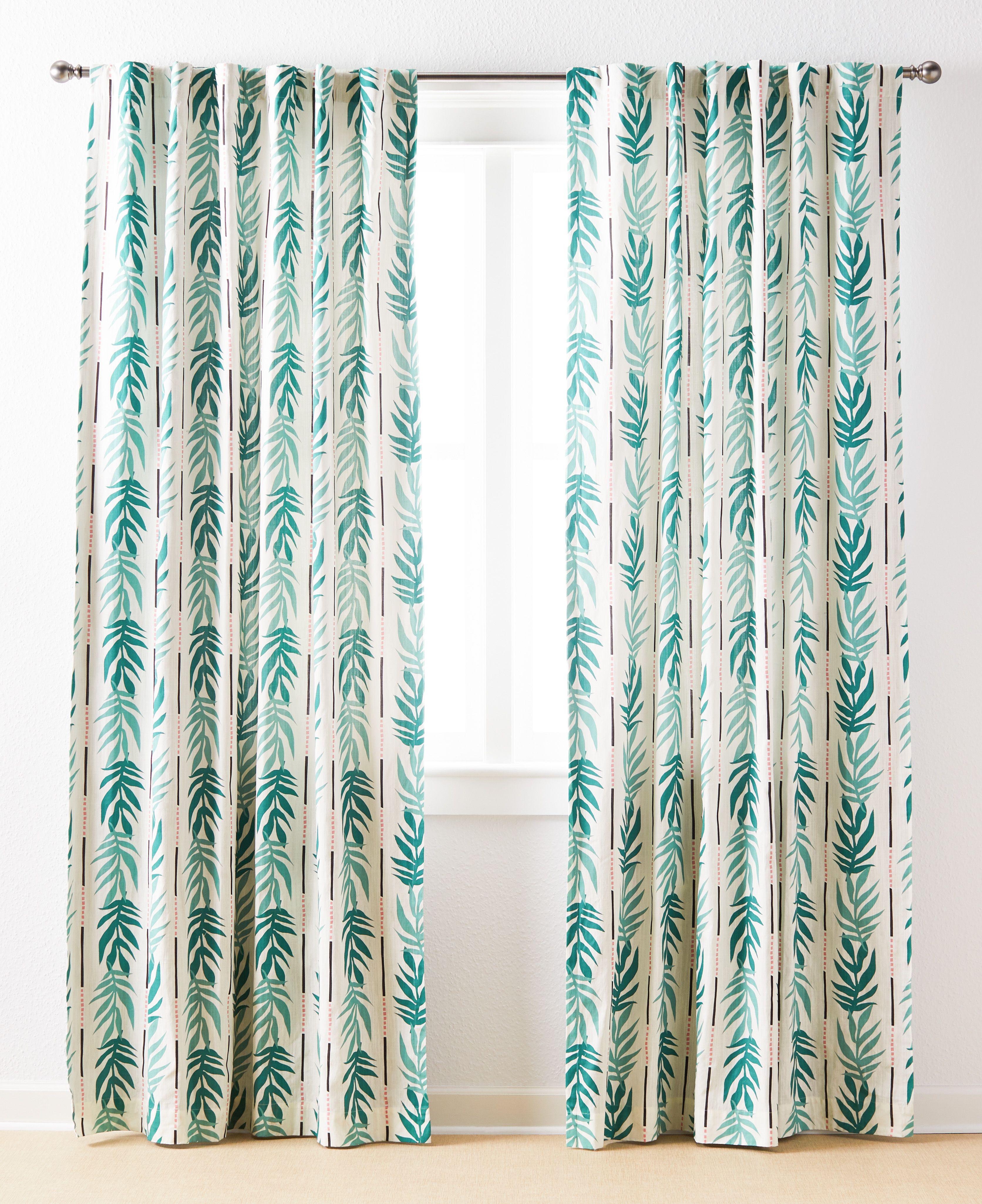 Vintage Palm Panel Pair By Drew Barrymore Flower Home Walmart