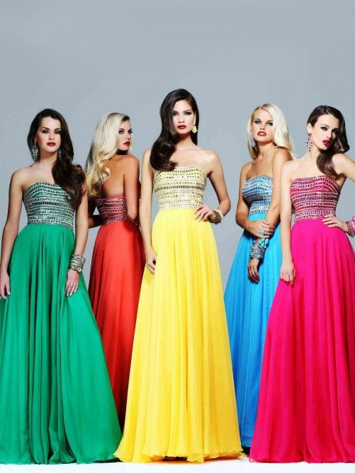 Dazzling Prom Dresses with All kinds of colour