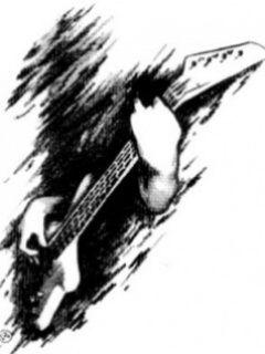 Drawing Boy Play Guitar Mobile Wallpaper Crafty Nick Nakks