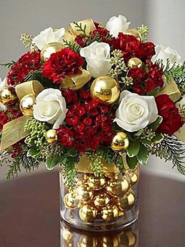 Pinterest Ideas Boda Arreglos Florales De Navidad