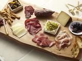 Love a simple antipasto platter!  A little of this...a little of that...