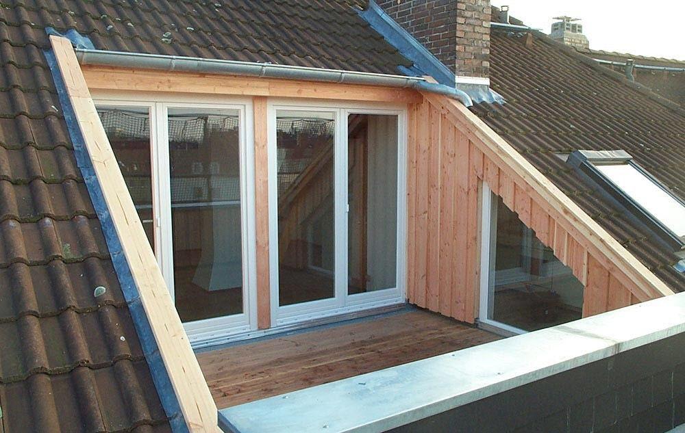 Loft conversion patio Diseño ventanas, Balcones para