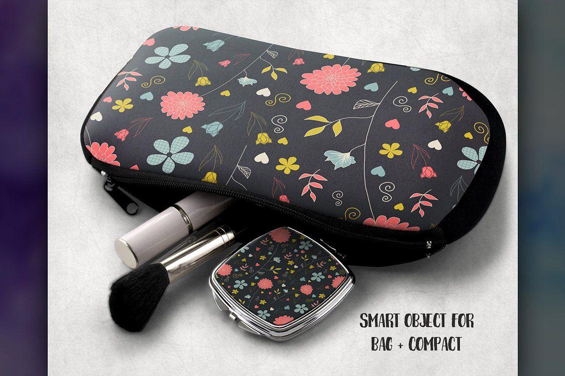 Download Cosmetic Bag Mockup Fully Customizable Add Angle Bag Mockup Cosmetic Bag Sunglasses Case