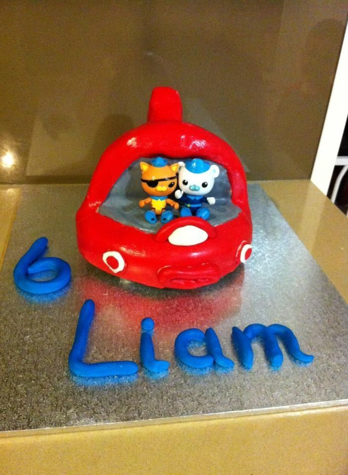 Another year, another Octonauts cake... Gup X | Octonauts stuff ...