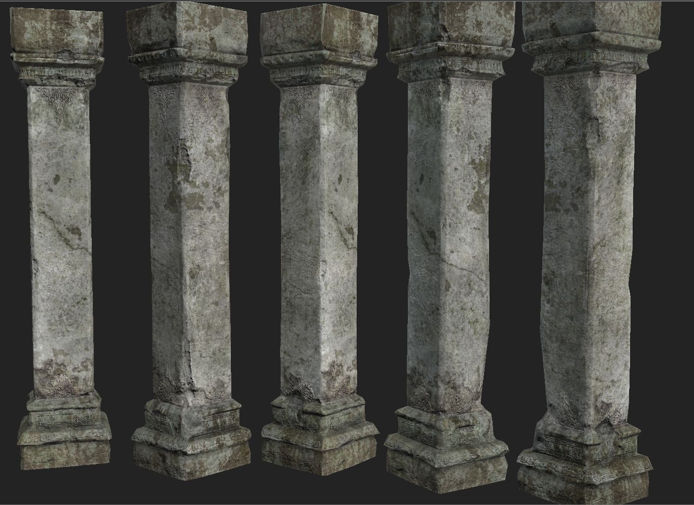 Paint For Concrete Pillars : Pillar stone old google search dungeon pinterest