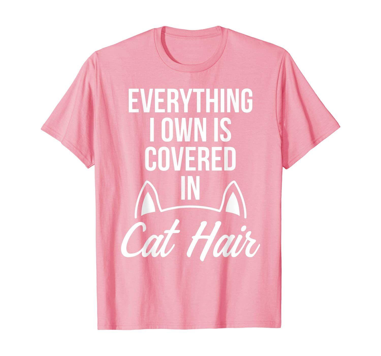 Vet Tech Cat Hair Funny Veterinary Technician T Shirt In