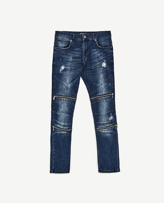 18e2ce02 Image 8 of SKINNY FIT JEANS from Zara | denim in 2019 | Jeans ...