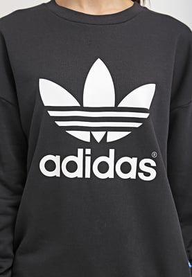 Dames adidas Originals Sweater - black Zwart: 59,95 € Bij ...