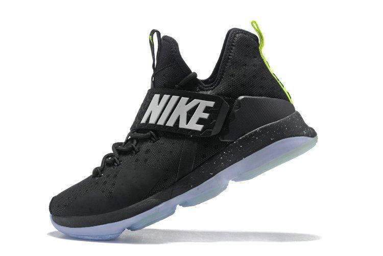 new concept 89df5 04f96 Latest LBJ Sneakers Cheap Nike LeBron 14 XIV Black Green Glow Flash Lime