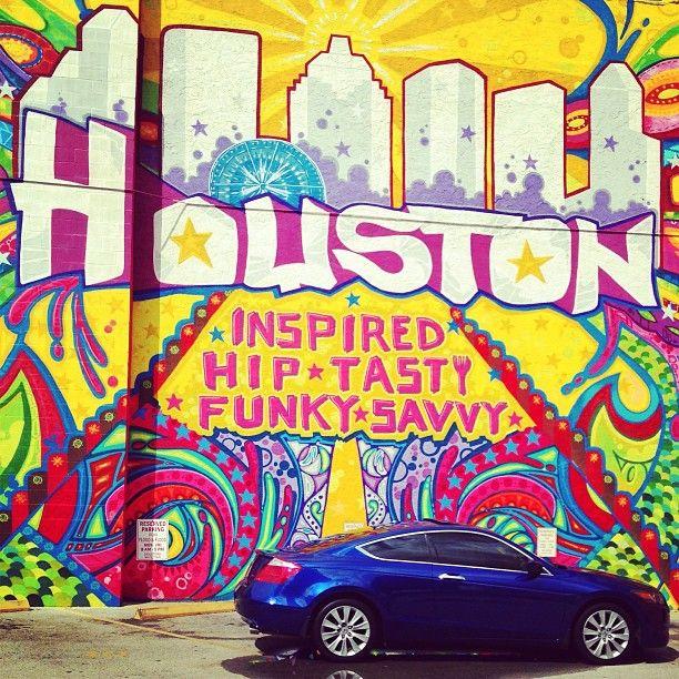 Downtown Houston S New Mural Downtown Houston Houston Tx