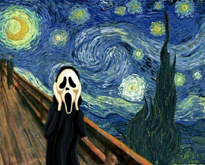Diferentes Versiones De Noche Estrellada De Vincent Van Gogh 1853 1890 Artista Impresion Noche Estrellada Tatuaje De Noche Estrellada Producción Artística