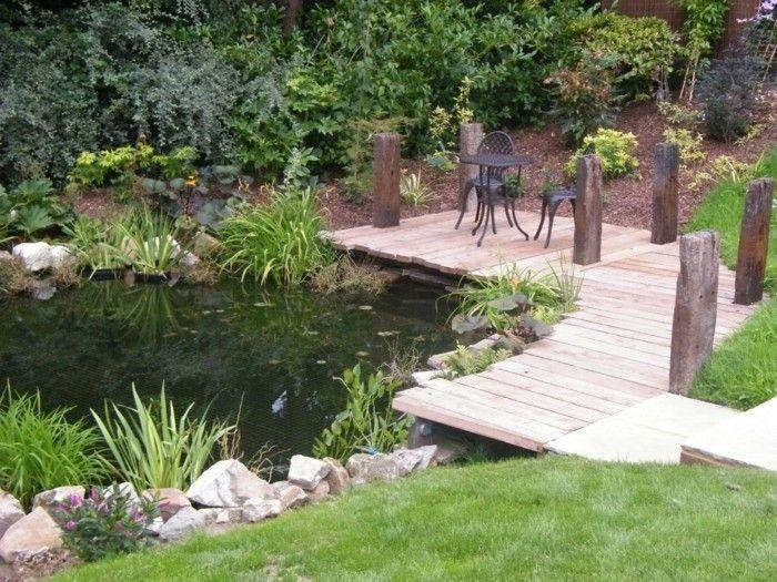 45 tolle Ideen, wie Sie einen Gartenteich anlegen könnten – Archzine.net