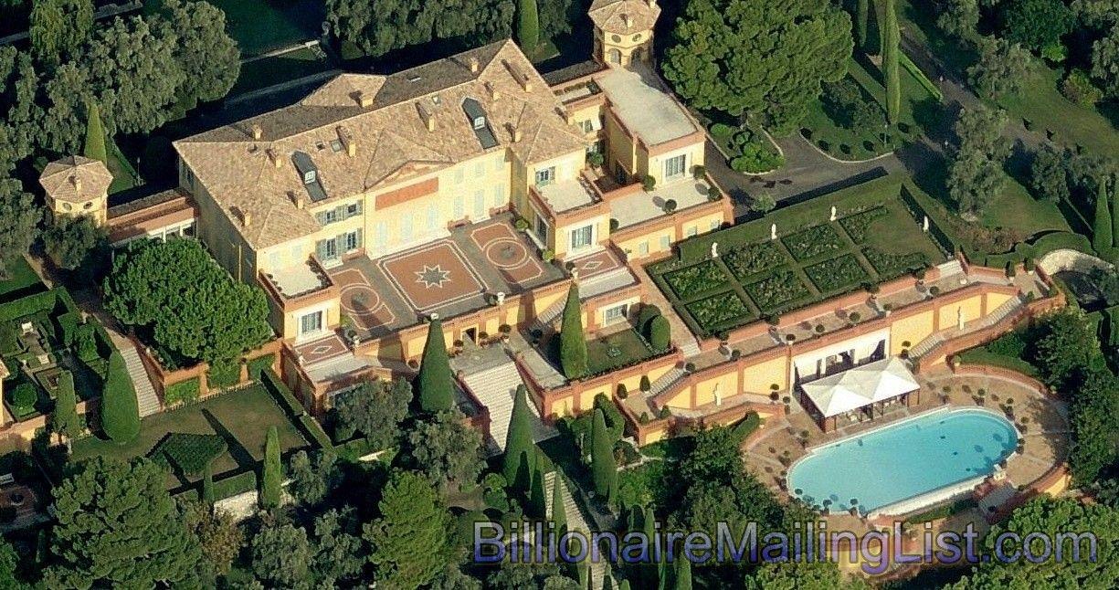 Aerial View Aerial View Of Mansions In Kensington Palace Gardens - A billionaire address villa la leopolda exclusive aerial views