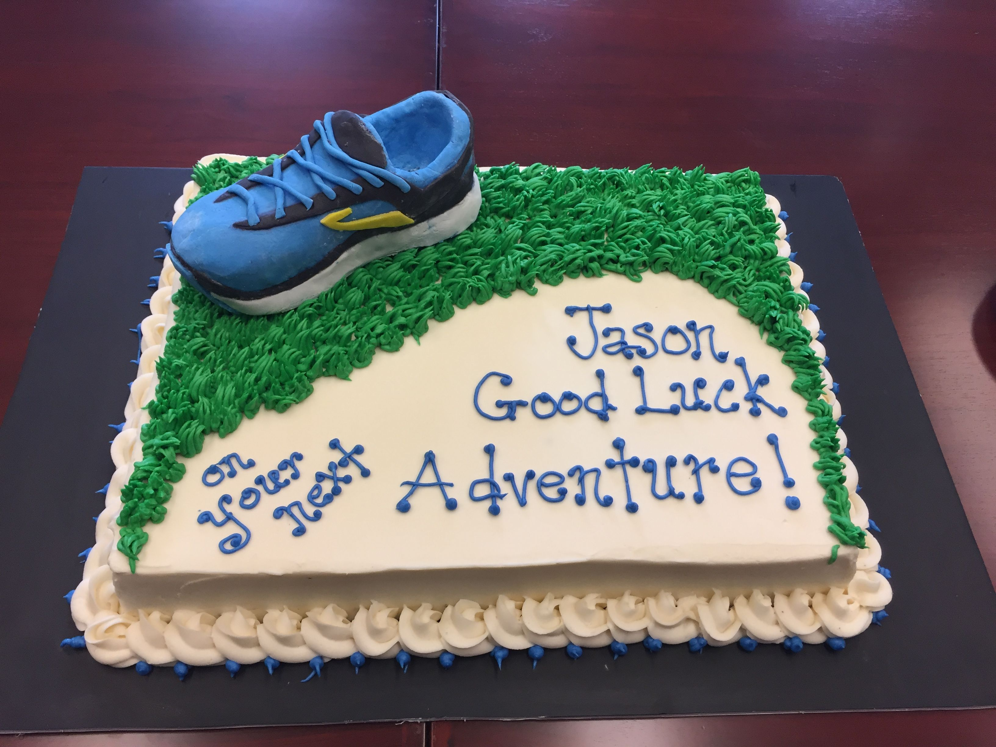 Good Luck On Your New Adventure Job Cake Cake