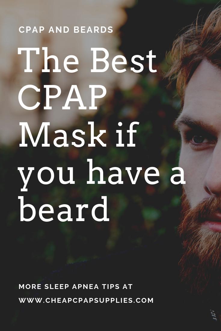 Cpap Masks For Beards Cpap Cpap Mask Beard