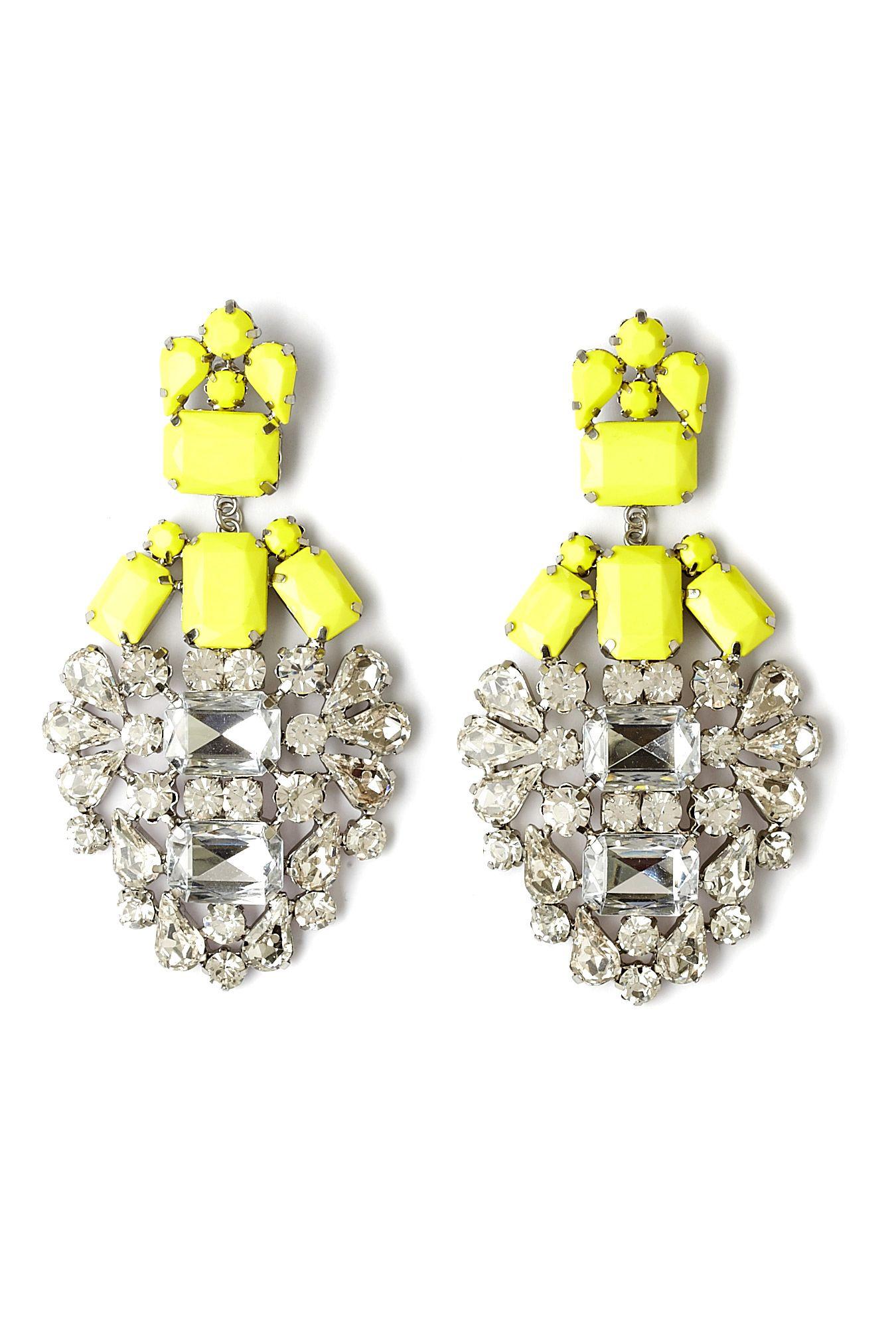 Basilo chandelier earrings by by malene birger fashion jewelry basilo chandelier earrings by by malene birger arubaitofo Choice Image