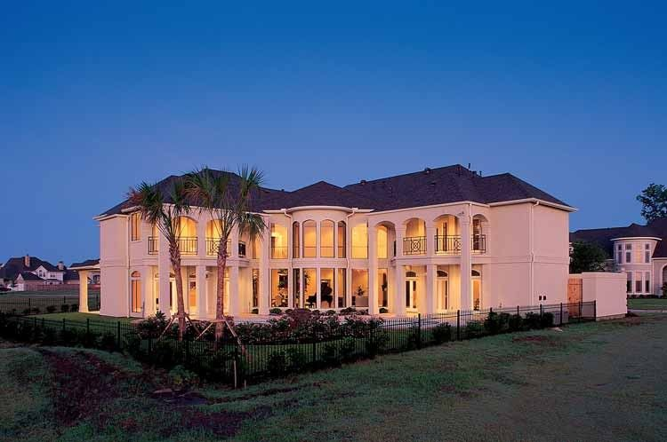Eplans Neoclassical House Plan Breathtaking Balconies 6226 Square Feet And 5 Bedrooms S From Eplans Hous House Plans Custom Home Plans Dream House Plans