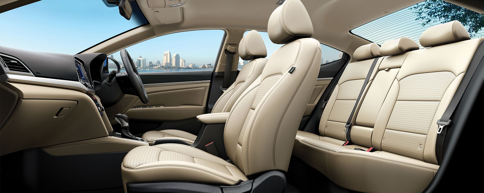 Stretch Out And Enjoy The Spacious, Well Appointed Interior Of The #Hyundai  #