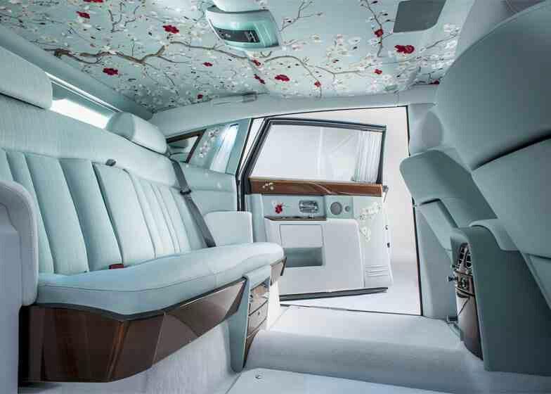 Rolls Royce Oriental Inspired Interior For The New Phantom Car