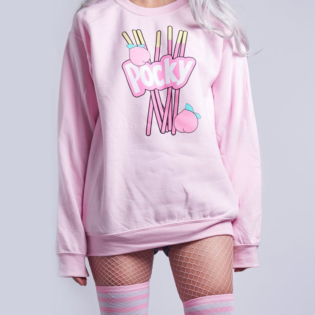 SALE- kawaii Japanese pocky jumper sweatshirt