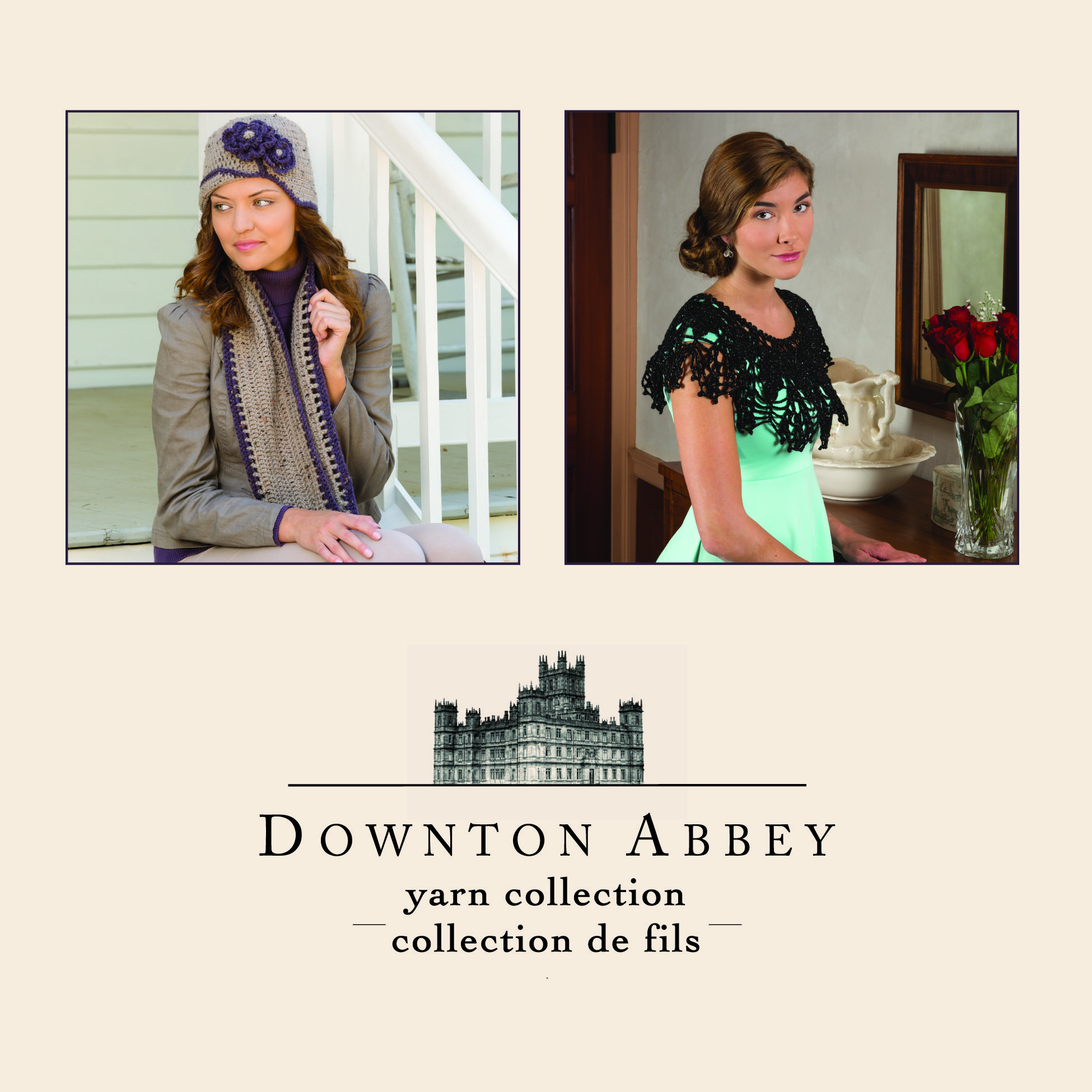 Free Downton Abbey Knitting & Crochet patterns, now available on www ...