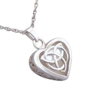 Celtic heart cremation jewelry pendant celtic heart cremation celtic heart cremation jewelry pendant for ashes aloadofball Choice Image