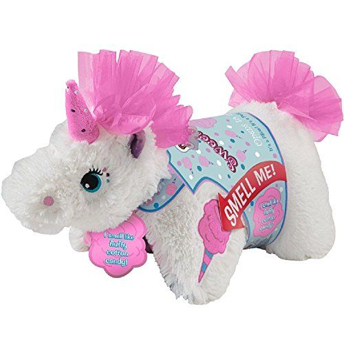 Pillow Pets Sweet Scented Pets Cotton Candy Unicorn Co Https