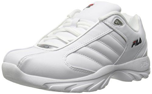 b84e0a8e5297 Fila Mens Torino 3 Training Shoe WhiteFila NavyFila Red 115 M US     Want