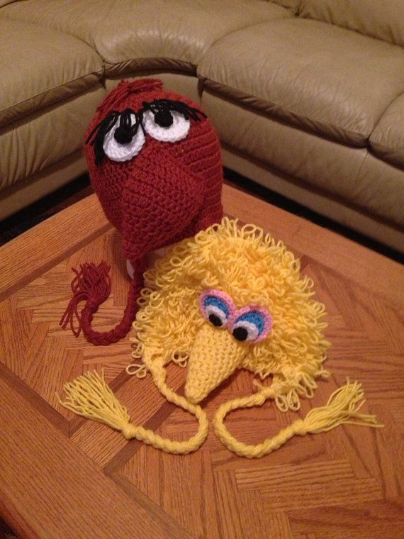 bird-and-snuffy-hat-set | Projects to Try | Pinterest