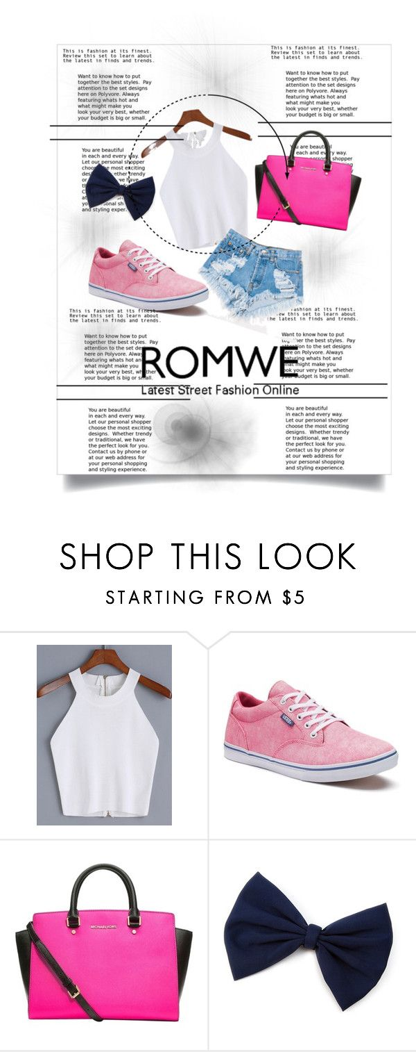 """""""Bez naslova #42"""" by dzenana-280 ❤ liked on Polyvore featuring Levi's, Vans and MICHAEL Michael Kors"""