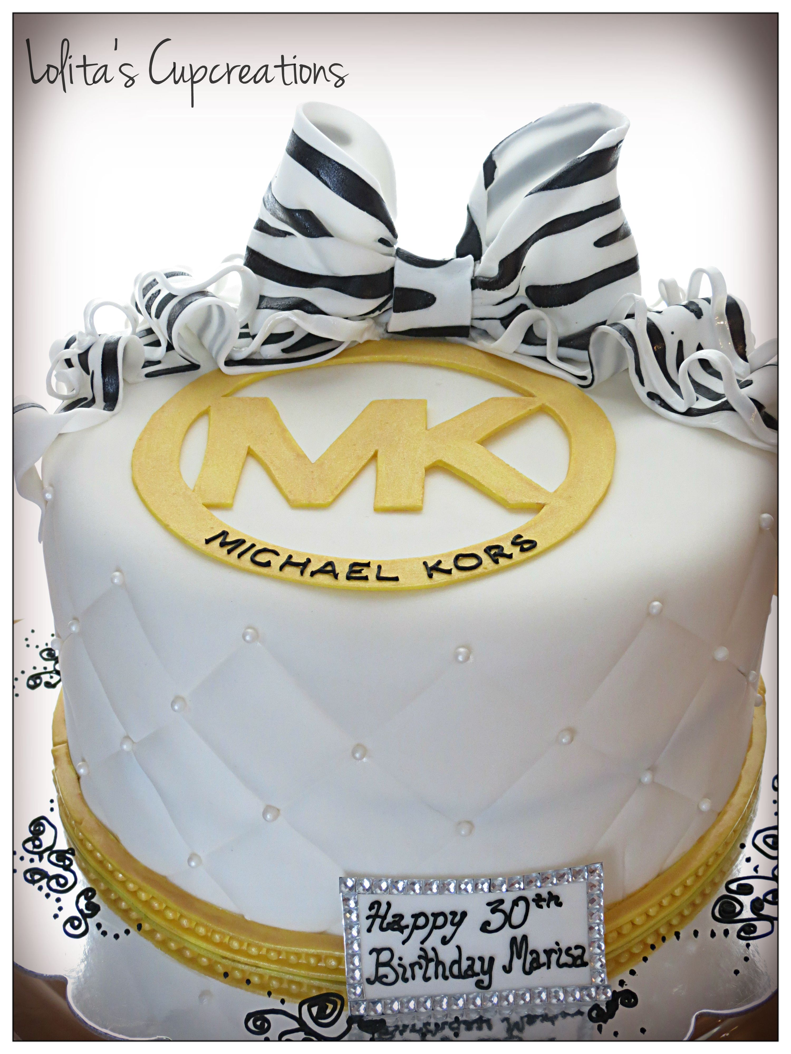 39d2d2edf Michael Kors Inspired cake by Lolita's Cupcreations | Oven ...