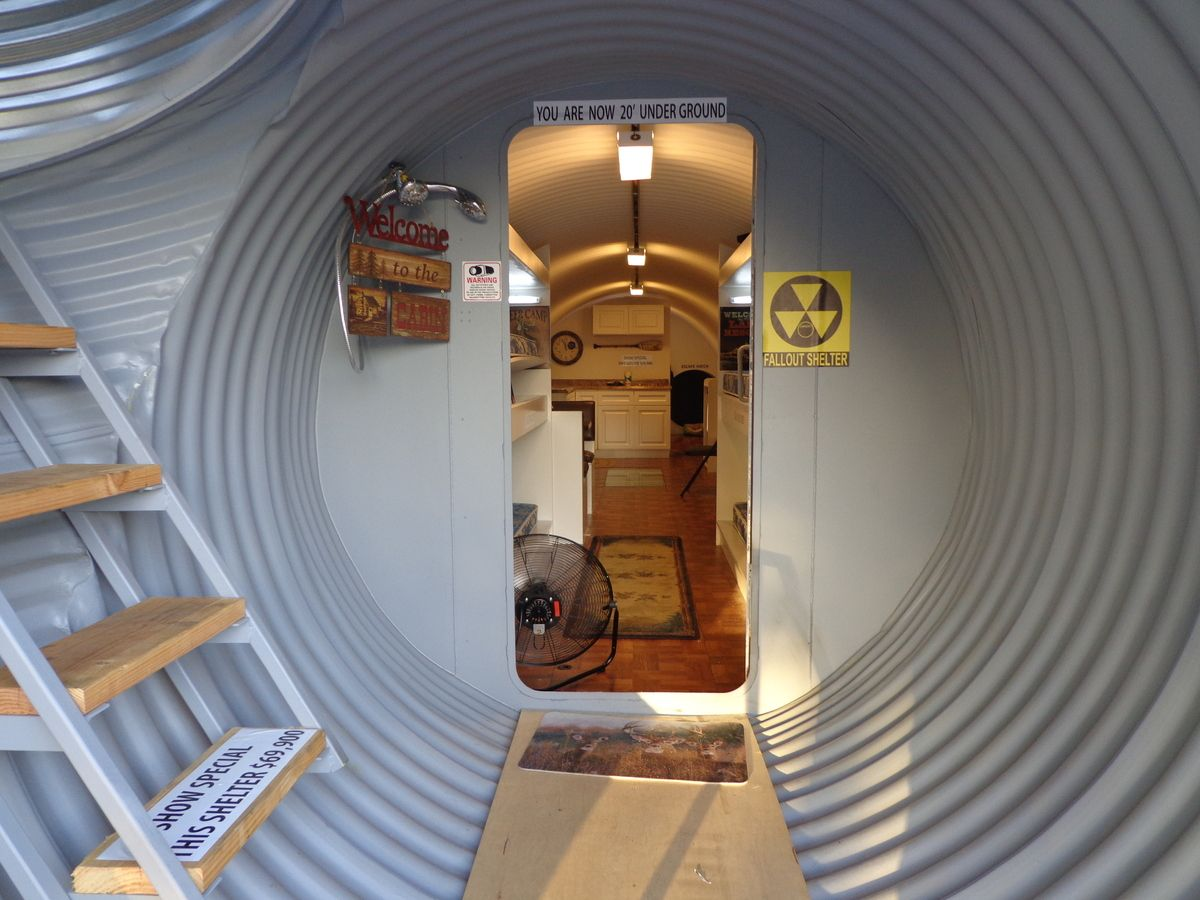Atlas Survival Shelter Doomsday Bunker Costs About 60 000