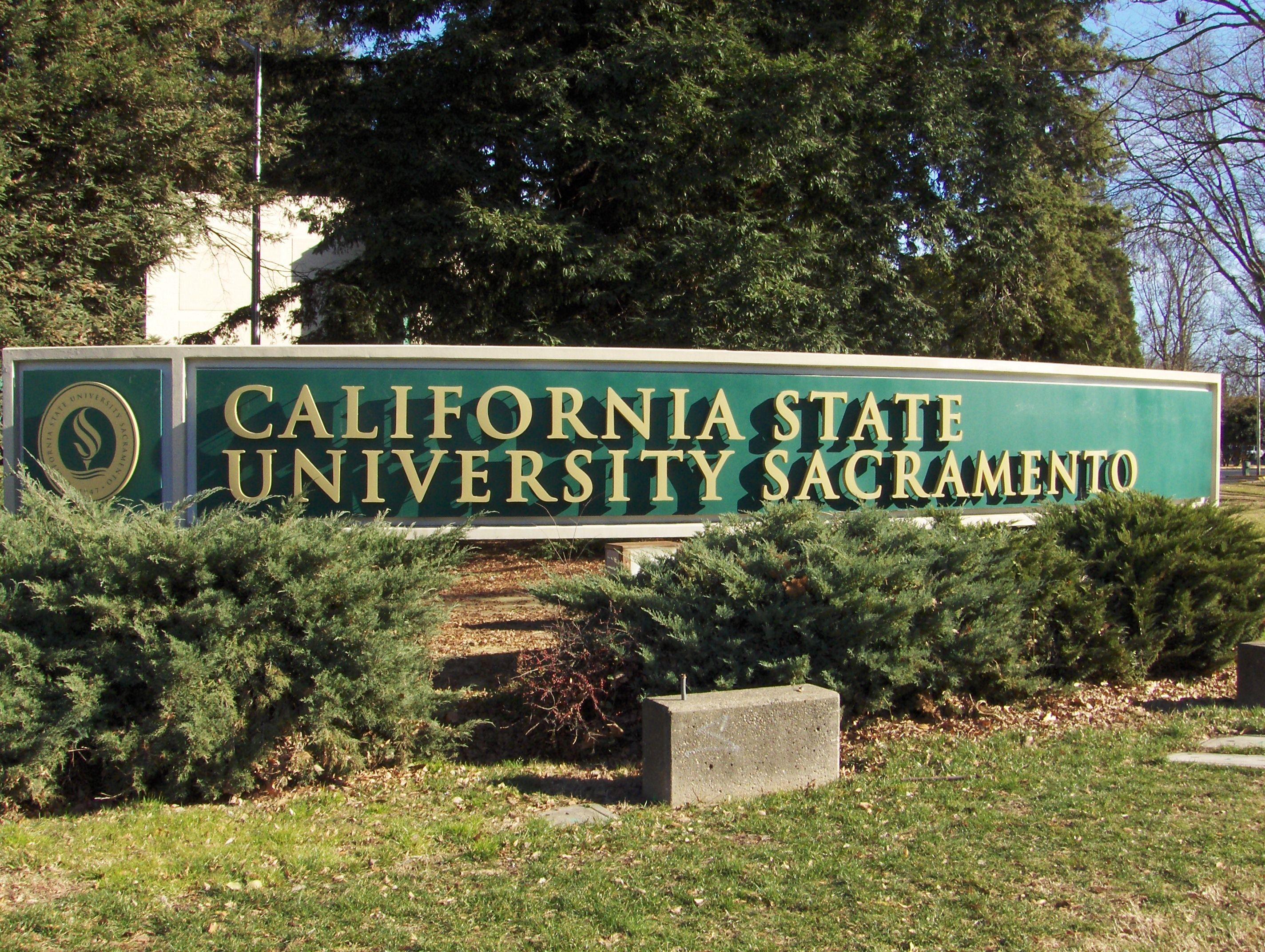 California State University Sacramento...