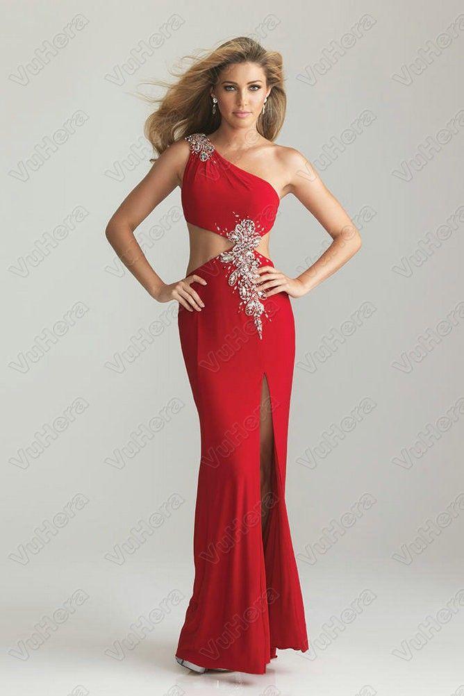Red Junior Dresses for Spring Formal