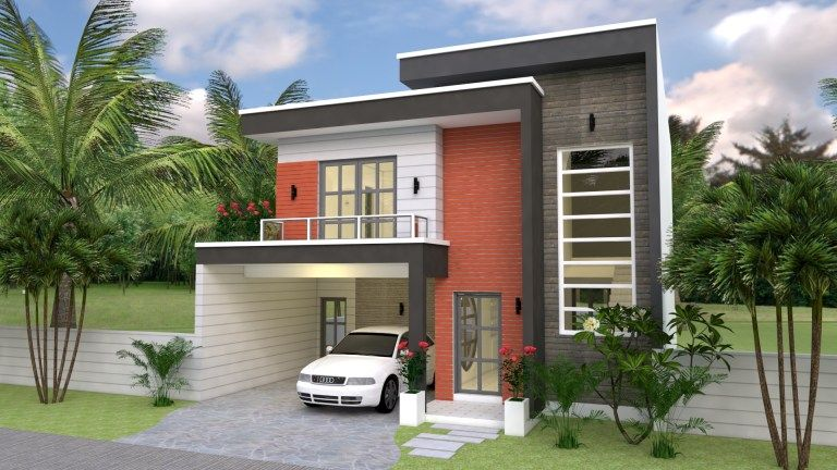 Elegant 10x20-meter double-storey house - House And Decors