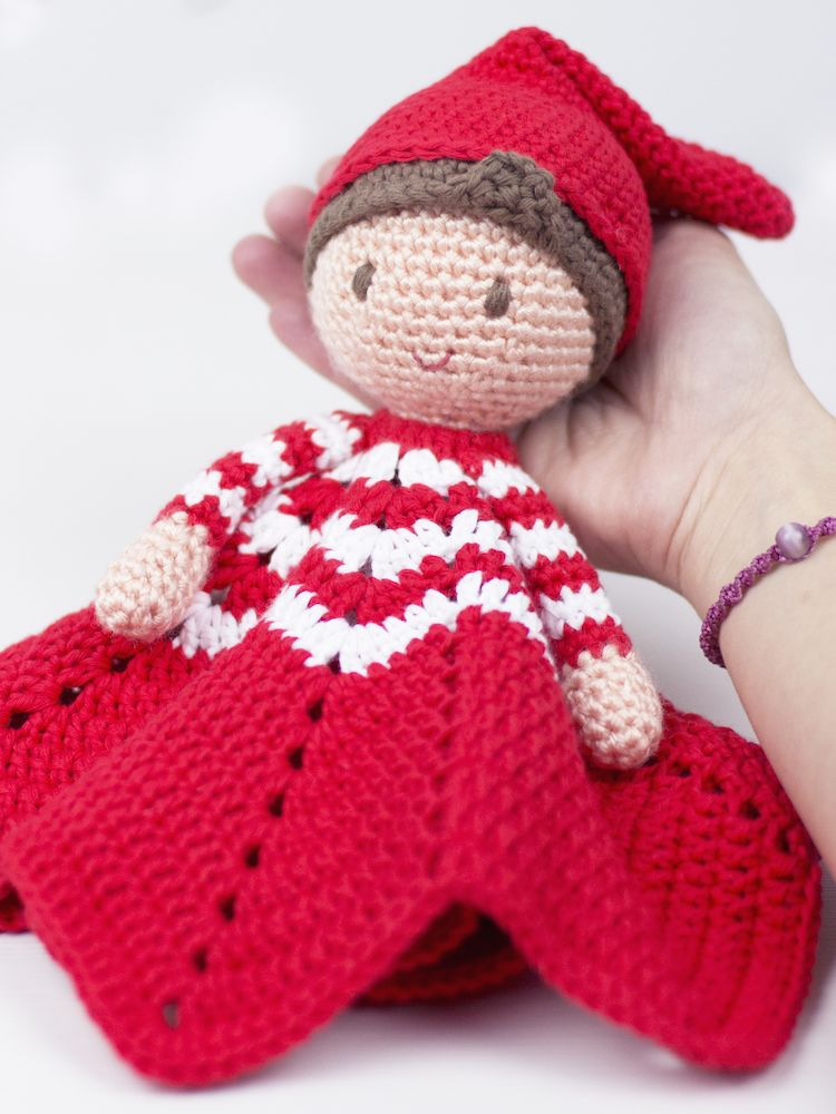 Santas little helper amigurumi pattern by airali handmade ... | 1000x750