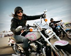 Dating site for motorcycle riders
