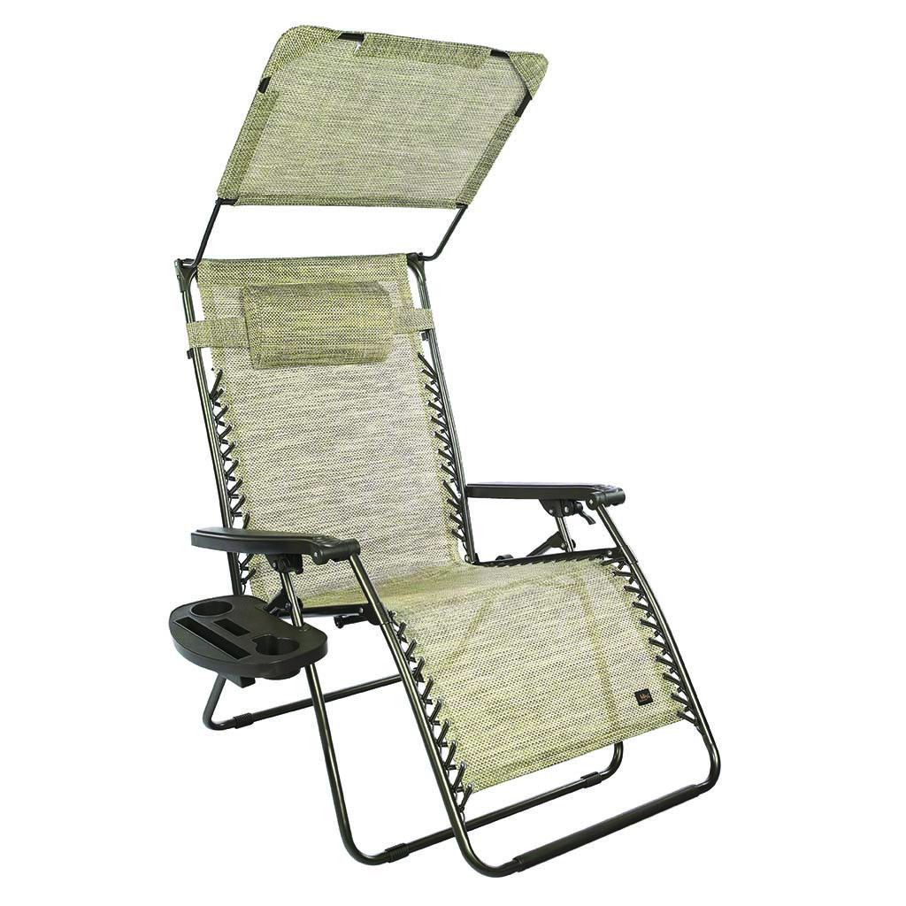 Xl Gravity Free Recliner Chair W Canopy Amp Tray Bliss
