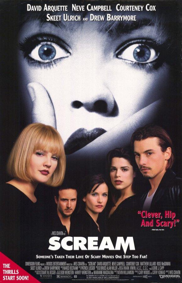 Watch Scream Online Scream Scream 1 1996 Director Wes Craven Cast Drew Barrymore Roger Jackson Kev In 2020 Scream Movie Scream Movie Poster Movie Posters