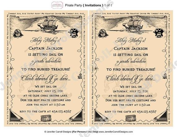 Pirate invitations wording pirate party invitation wording invitations filmwisefo Image collections