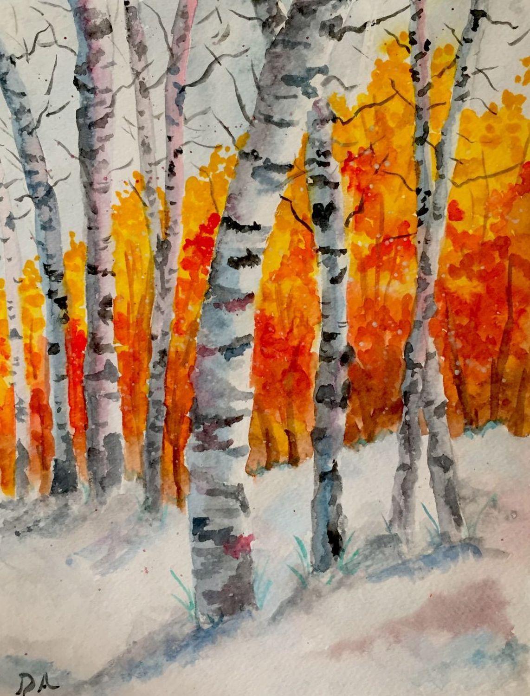 Change Of Season Full Frontal Image Unframed Changing Seasons
