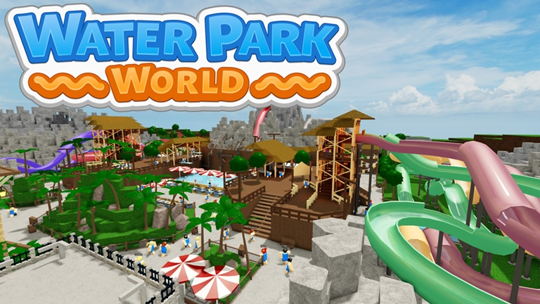 (13) Water Park World [Beta] Roblox in 2020 Water park