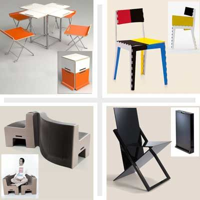 space saving folding furniture. Cleverest Space-Saving Folding Chair Designs Space Saving Furniture D