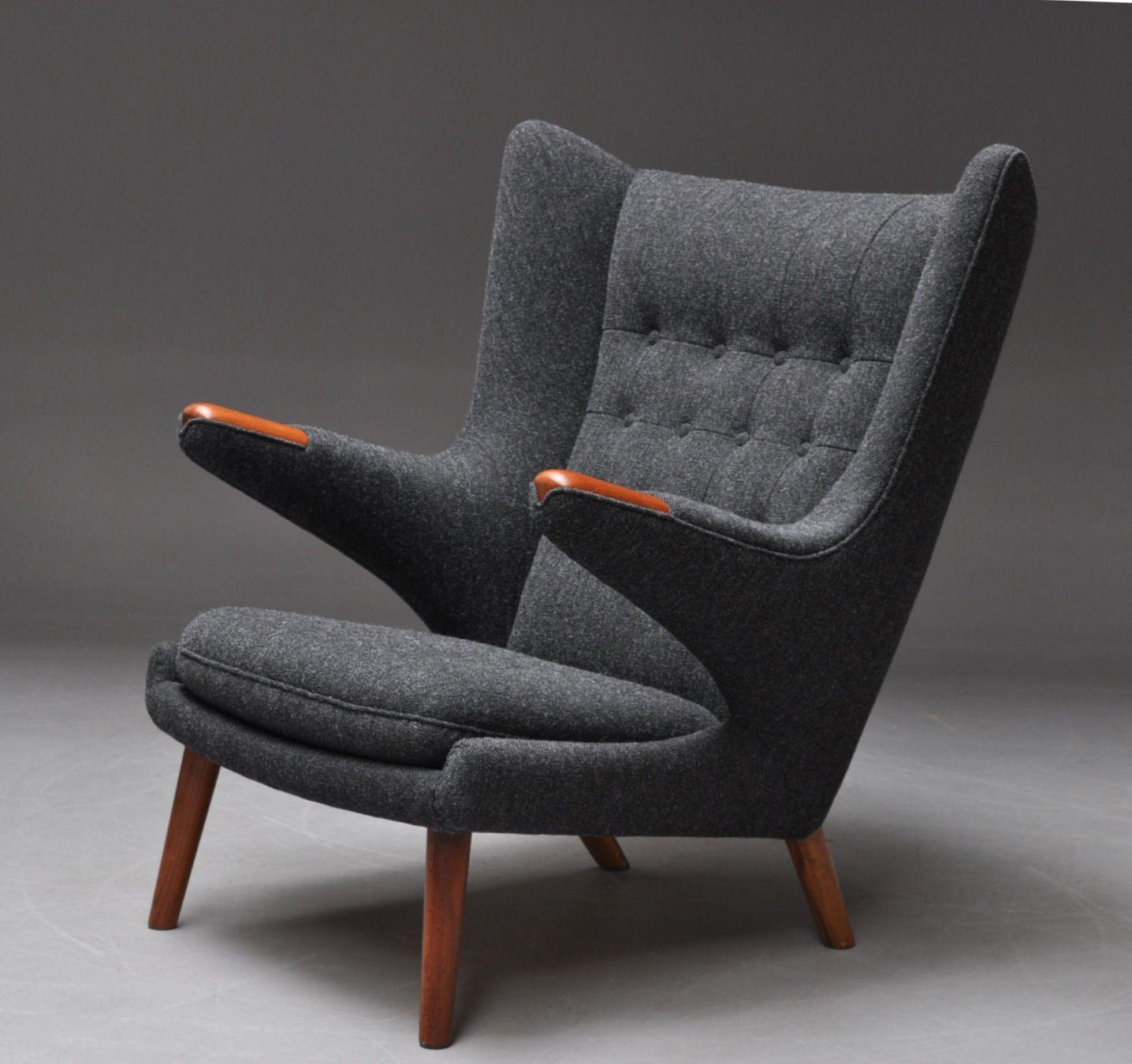 Hans J Wegner Papa Bear Chair unheimlich schön