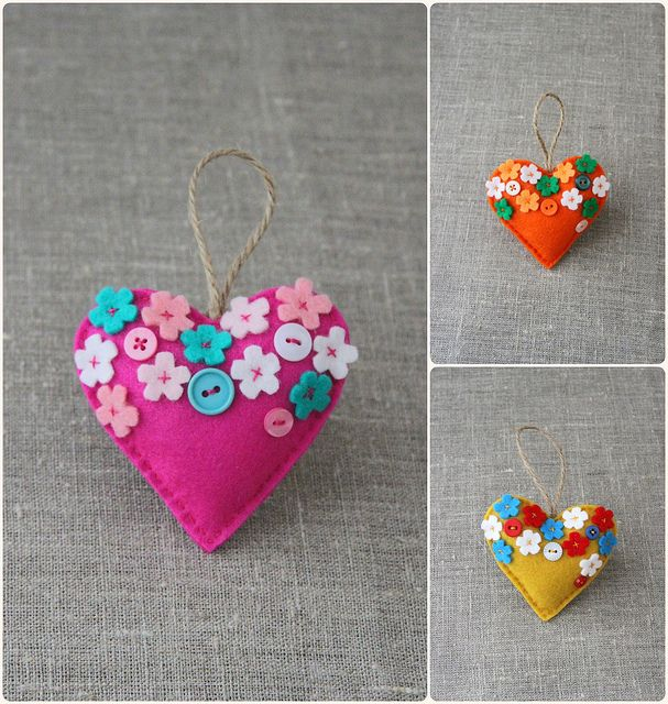 """""""Blossoming love"""" hearts in the making… 