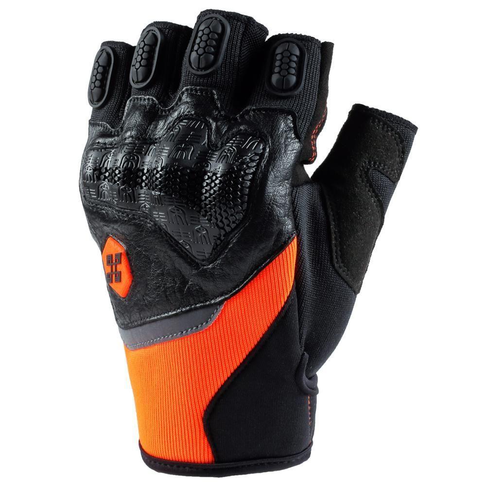 Wholesale Dropshipping Summer Motorcycle Half Finger Gloves Men Women Biker Guan…
