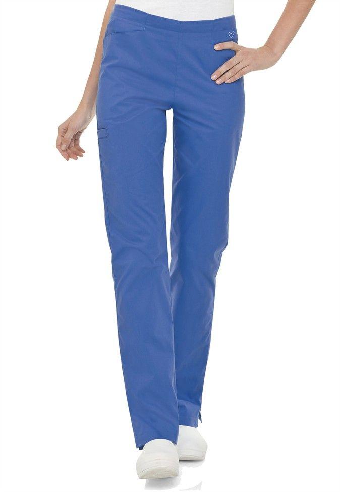 Landau Twill Collection flat front cargo scrub pants | #scrubsandbeyond